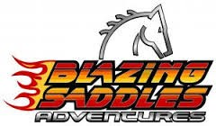 Company logo for Blazing Saddles