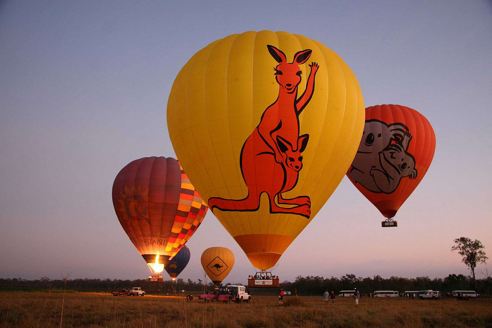 Image for Hot Air Cairns - Balloon Hot Air Extended Scenic Flight ex Northern Beaches