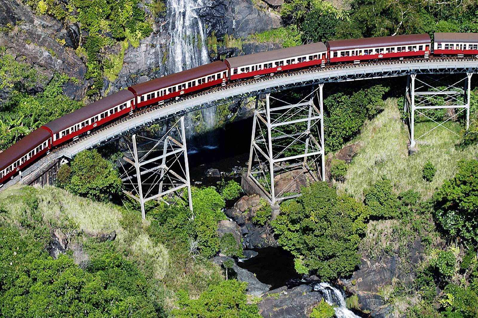 Image for Reef and Rainforest Connections Port Douglas - Kuranda Skyrail, Rainforestation & Train