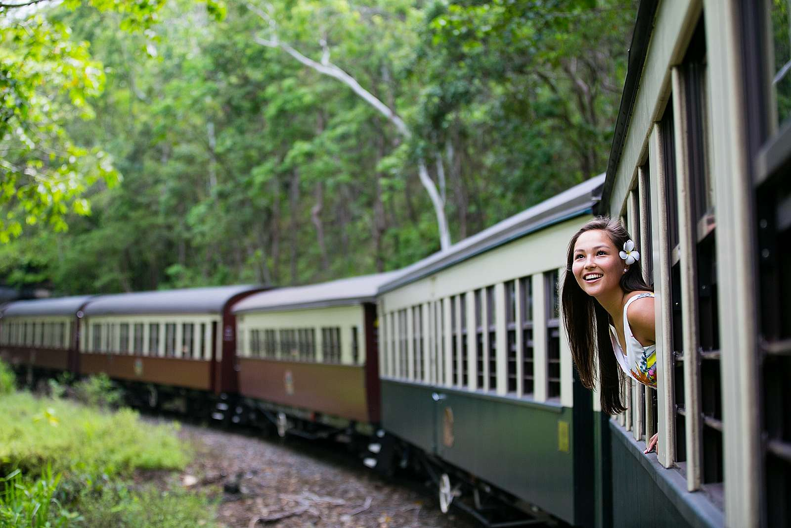 Image for GTS Global Travel Services - Visit Kuranda: Skyrail up / 2pm Train back