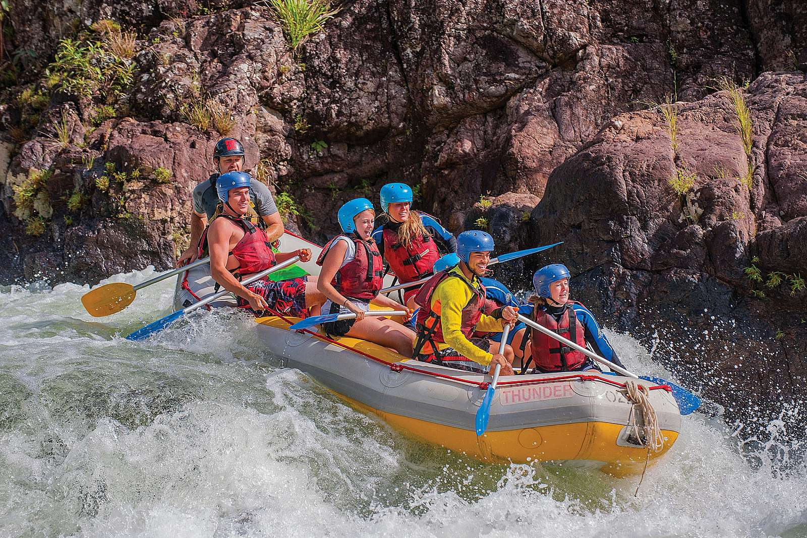 Image for Raging Thunder - Rafting & Canyoning - Xpass - Raft ~ Skydive - Tully