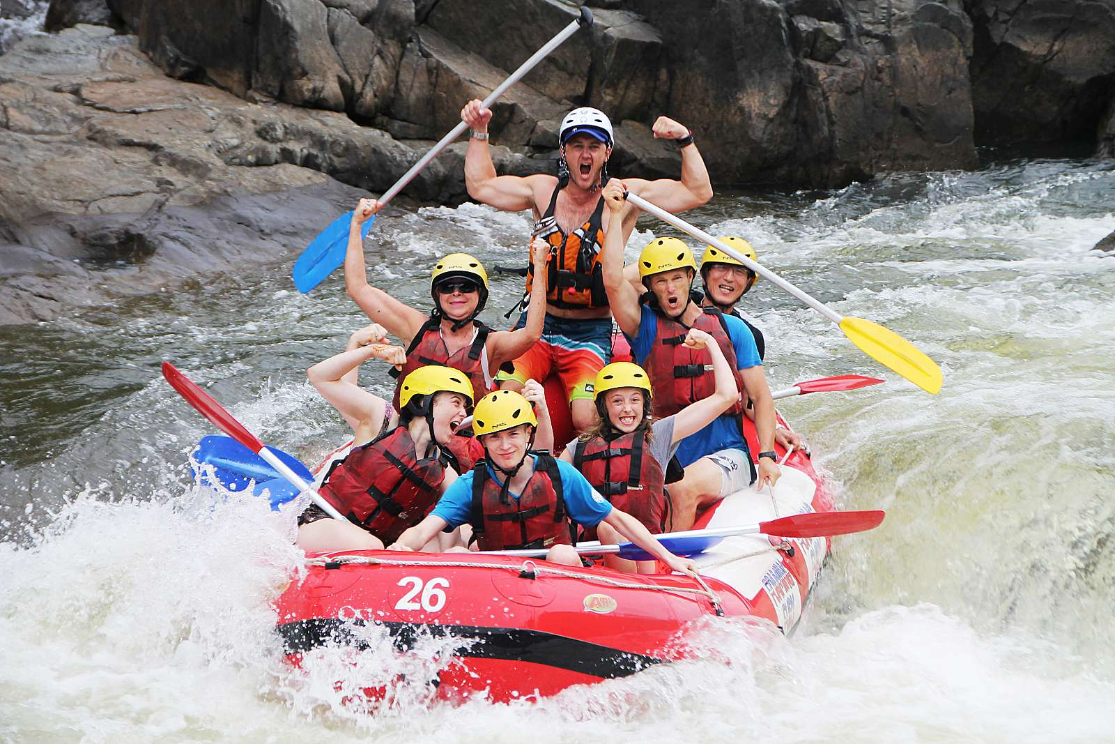 Feature image for *Barron River Rafting - Half Day