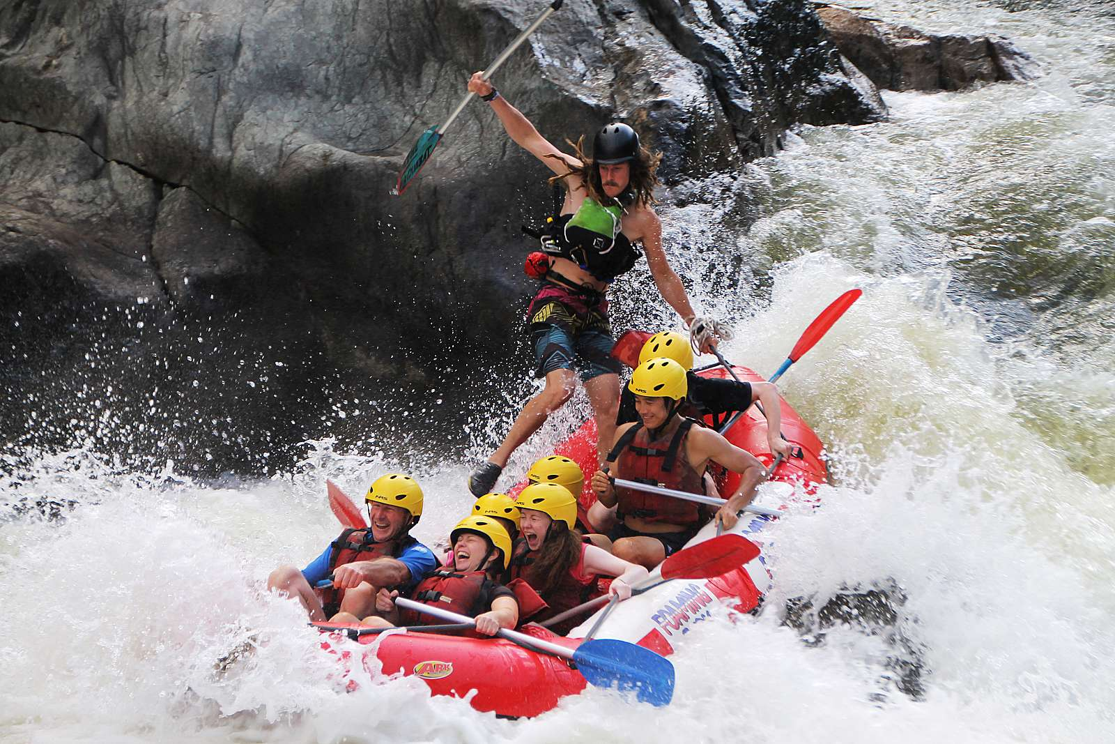 Image for Foaming Fury - *Barron River Rafting - Half Day