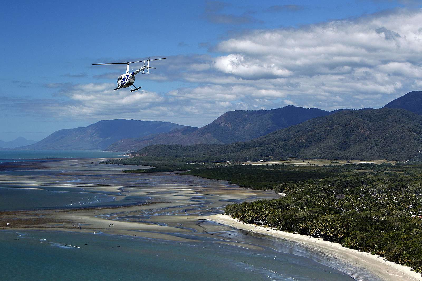 Image for GBR Helicopters Port Douglas - 60 minute Scenic Flight - Ultimate Reef & Rainforest
