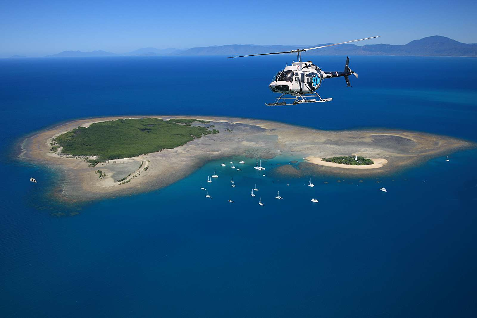 Image for GBR Helicopters Port Douglas - 30 minute Scenic Flight - Reef Discovery