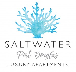 Homepage link and logo for Saltwater Luxury Apartments