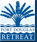 Homepage link and logo for Port Douglas Retreat