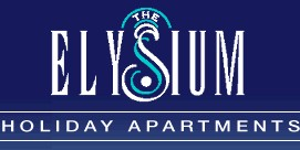 Homepage link and logo for Elysium Apartments