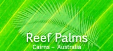 Homepage link and logo for Reef Palms
