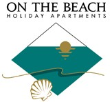 Homepage link and logo for On The Beach Holiday Apartments