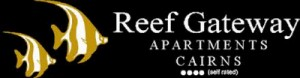 Homepage link and logo for Reef Gateway Apartments