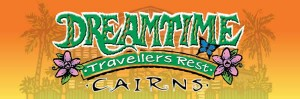 Homepage link and logo for Dreamtime Travellers Rest