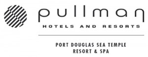 Homepage link and logo for Pullman Port Douglas Sea Temple Resort & Spa