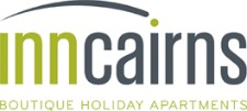 Homepage link and logo for Inn Cairns Boutique Apartments