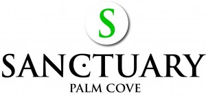 Homepage link and logo for Sanctuary Palm Cove