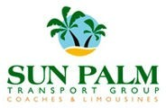 Homepage link and logo for Cairns Domestic Airport Travel Desk - Sunpalm