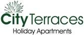 Homepage link and logo for City Terraces Holiday Apartments
