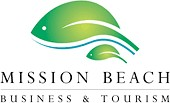 Homepage link and logo for Mission Beach Business & Tourism