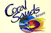 Homepage link and logo for Coral Sands Beachfront Resort