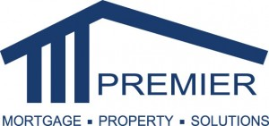 Homepage link and logo for Premier Mortgage Solutions