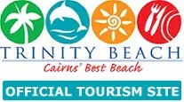 Homepage link and logo for Trinity Beach Tourism